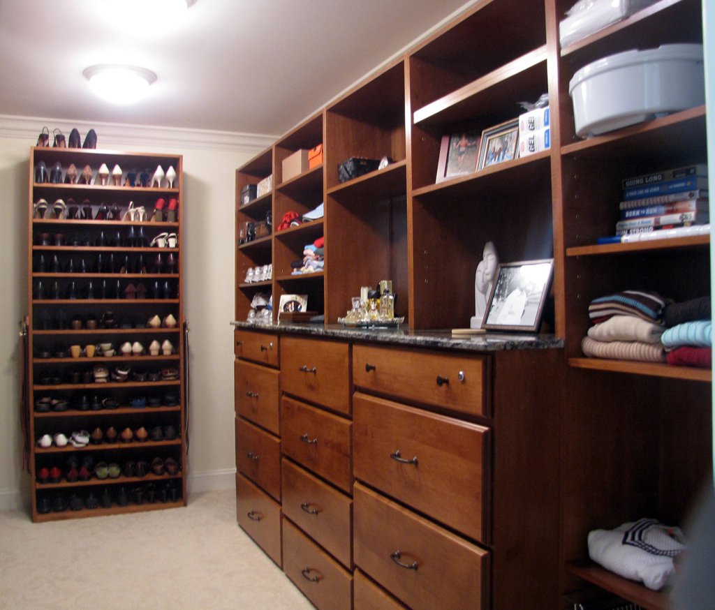 Mikeu0027s Cabinets: Custom Closets..The Finest In Hand Made Cabinetry In Tampa  Bay